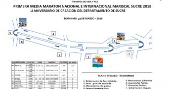 """Este domingo 18 de marzo en Sincelejo, competencia atlética """"Primera Media Maratón Mariscal Sucre"""""""