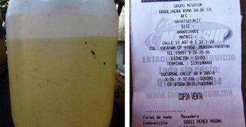 En Sucre, estas estaciones de servicio fueron sancionadas por vender gasolina incompleta